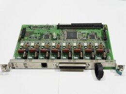 Системные телефоны - Плата 8 внешних аналог. линий KX-TDA0180X LCOT8, 0