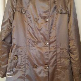 Пальто - Пальто-плащ, весна/осень, 48 размер, 0