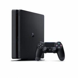 Игровые приставки - Приставка Sony PlayStation 4 Slim (500 Gb) (CUH-2216A) черная, 0