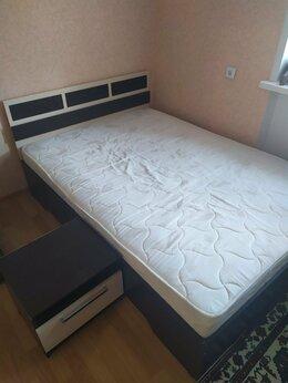Кровати - Кровать 1,5-спальная и матрас, 0