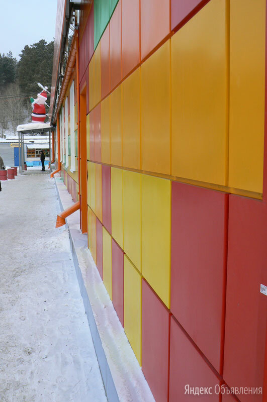 Кассета фасадная КФ-2 (0,5мм) 565 х 565 по цене 1045₽ - Фасадные панели, фото 0