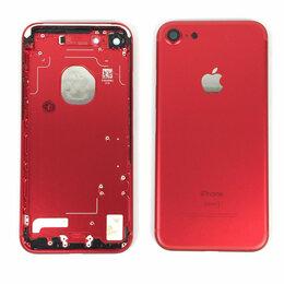 Корпусные детали - Корпус для Apple iPhone 7 красный,оригинал, 0