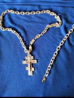 Цепи - Цепь+браслет+крест, 0