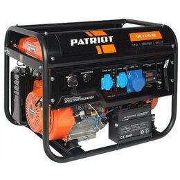 Электрогенераторы - Генератор бензиновый Patriot GP 7210AE 474101590, 0