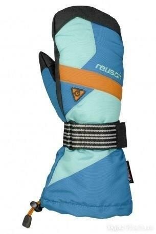 Варежки ReuschBoardslide R-TEX XT Mitten 492 menthol / orange по цене 4900₽ - Перчатки и варежки, фото 0