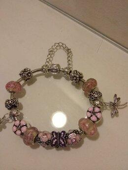 Браслеты - Серебряные браслеты с шармами (2 дизайна), 0