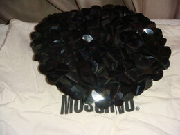 Головные уборы - Берет шерсть с пайетками Moschino, 0