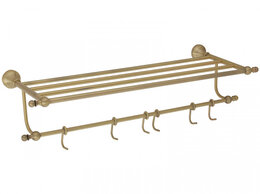 Полки, стойки, этажерки - Полка 60 см Gialetta Veragio VR.GIL-6426.BR, 0