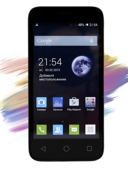 Мобильные телефоны - Alcatel One Touch Pixi 4Gb, 0