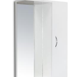 """Полки, стойки, этажерки - Мебель для ванных комнат Sanita Зеркальный шкаф клас. """"Идеал-55"""" белое без св..., 0"""