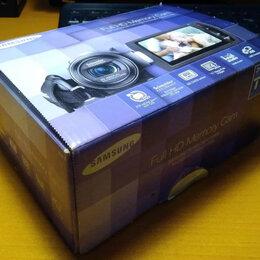 Видеокамеры - Видеокамера Samsung HMX-H200BP, 0