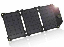 Зарядные устройства и адаптеры - Солнечная панель для USB девайсов, 0