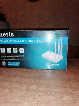 Оборудование Wi-Fi и Bluetooth - 4G Wi-Fi роутеры Netis MW5230 новый, 0