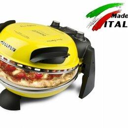 Сэндвичницы и приборы для выпечки - Пиццамейкер G3 ferrari Delizia G10006 мини печь для выпечки пиццы, желтая, 0