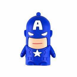 Аккумуляторы - Зарядка для телефона 8800 mAh (Капитан Америка), 0