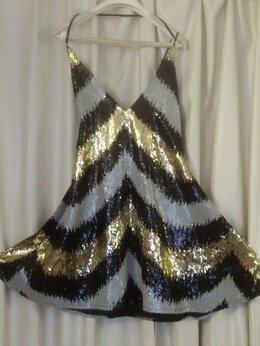 Платья - Женское платье Nasty Gal из блестящих чешуек…, 0