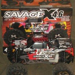 Радиоуправляемые игрушки - Радиоуправляемый Монстр двс HPI Savage X 4.6 Big Block 4WD rc, 0