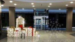 Новогодний декор и аксессуары - Световая фигура Трон Деда Мороза (цвет на выбор), 0