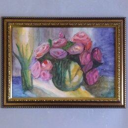"""Картины, постеры, гобелены, панно - Картина """"Букет цветов"""" (акварель), 0"""