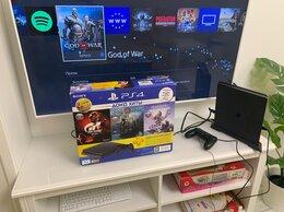 Игровые приставки - Playstation 4 slim 1tb +3 игры , 0