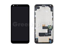 Дисплеи и тачскрины - Дисплей для LG Q6/Q6a/Q6 Plus (M700) в рамке +…, 0