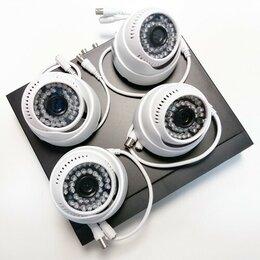 Видеокамеры - Комплект видеонаблюдения AHD на 4 камеры, 0