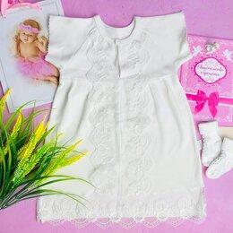 Крестильная одежда - Крестильное платье «Ангелочек» 62 по 80 размер, 0