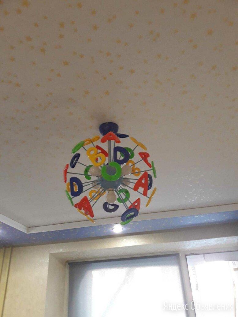 Потолочный светильник в детскую, с буквами по цене 2500₽ - Люстры и потолочные светильники, фото 0