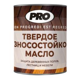 Масла и воск - Масло твёрдое с воском для пола PRO Colore 2.5л , Серый, 0