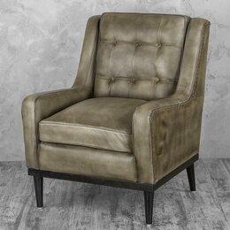 """Кресла - Кресло с мягкими подлокотниками серое """"Берг"""", 0"""