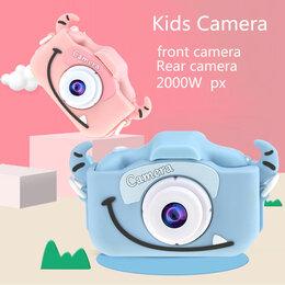 Фотоаппараты - Детский фотоаппарат с чехлом, 0
