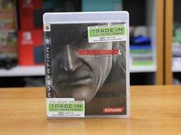 Игры для приставок и ПК - Metal Gear Solid 4: Guns of the Patriots - PS3 Б.У, 0