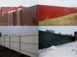 Заборы и ворота - Устанавливаем заборы из профлиста под КЛЮЧ , 0