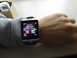 Умные часы и браслеты - смарт часы DZ-09, 0