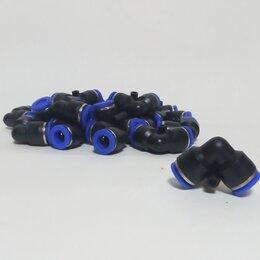 Водопроводные трубы и фитинги - Быстроразъёмный фитинг-цанга угловой 12 мм, 0