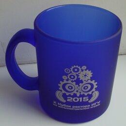 Кружки, блюдца и пары - Кружка синяя «Кубок ректора ИГУ 2015», 0