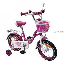 Велосипеды - Детский велосипед OSCAR Kitty 18 (фиолетовый с…, 0