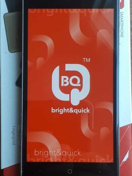 Мобильные телефоны - Смартфон BQ 4001G Cool Black витринный, 0