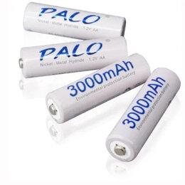 Аккумуляторы и зарядные устройства - Аккумуляторные батареи Palo AA, AAA, 9V, 0