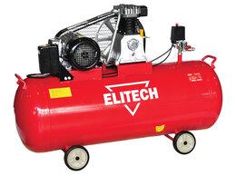 Воздушные компрессоры - Компрессор масляный ремен. Elitech КПР 200/550/3.0, 0