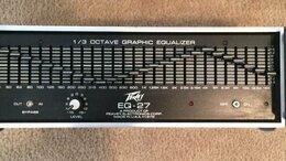 Цифро-аналоговые преобразователи - Эквалайзер PEAVEY EQ-27, 0