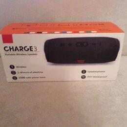 Портативная акустика - блютуз колонка charge 3, 0