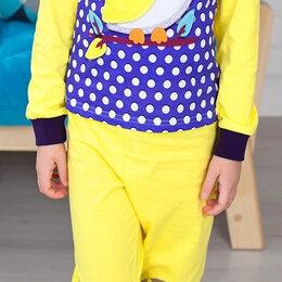 "Домашняя одежда - Пижама "" Сова "",желтая рост 110, 0"