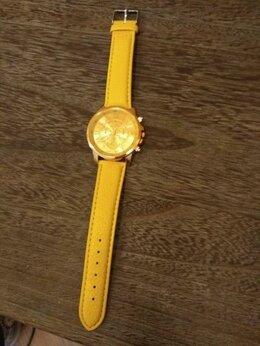 Наручные часы - Часы (2 дизайна-белые и жёлтые), 0