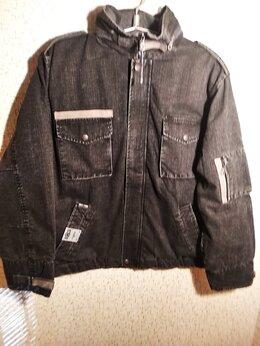Куртки - Новая зимняя джинсовая куртка  в стиле М-65  …, 0