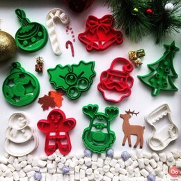 Выпечка и запекание - Форма для печенья (Новый год, Рождество), 0