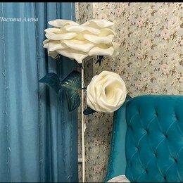 Торшеры и напольные светильники - Торшер «Белые розы», 0