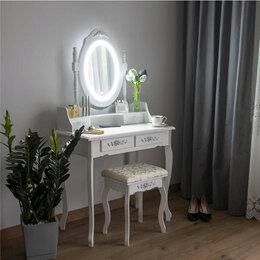 Столы и столики - Туалетный столик со светодиодным зеркалом, 0