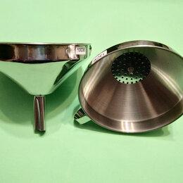 Устройства, приборы и аксессуары для здоровья - Воронка нержавеющая с сетчатым фильтром, 0