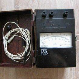 Измерительные инструменты и приборы - Мегаомметр М4100/4 1000V, 0